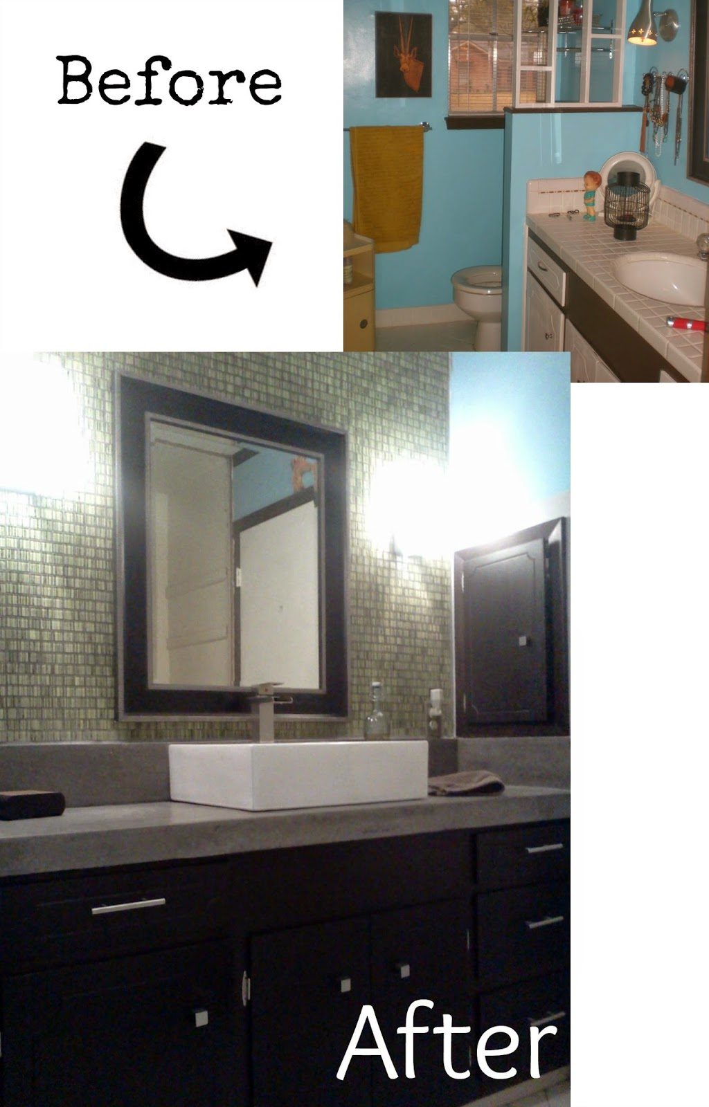 Bathroom Makeover Vanity pneumatic addict : 7 best diy bathroom vanity makeovers