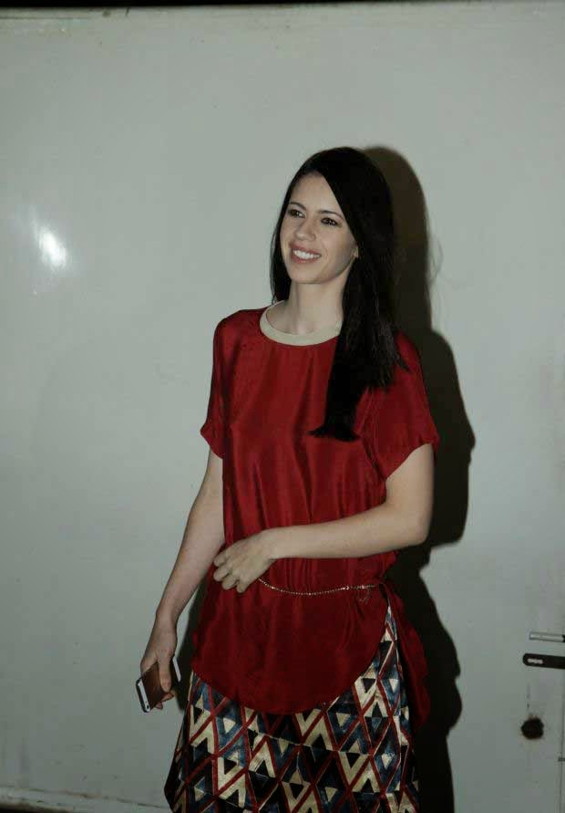 Kalki Koechlin at Happy Ending screening