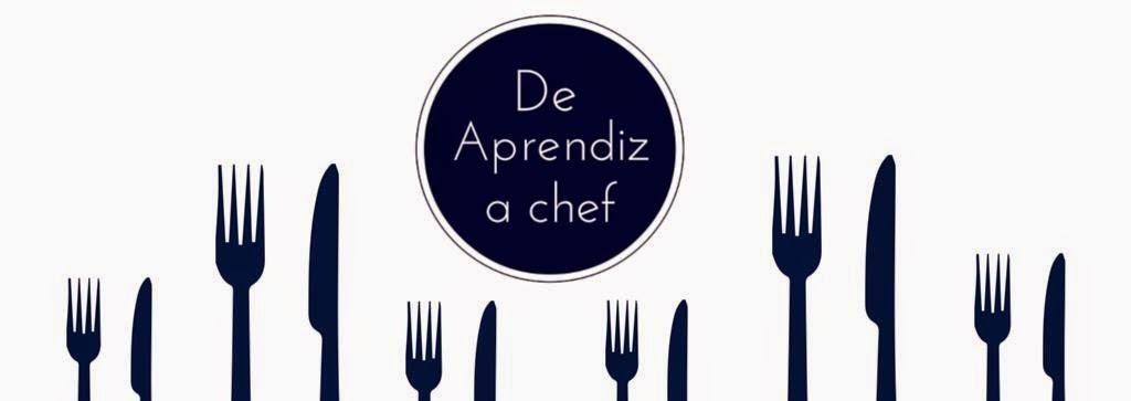 De aprendiz a chef