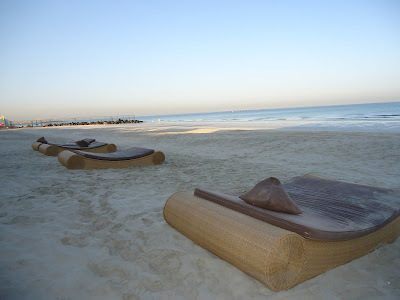 cabana at UAE's best private beach