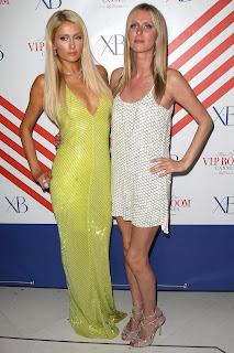 Paris & Nicky Hilton At Cannes