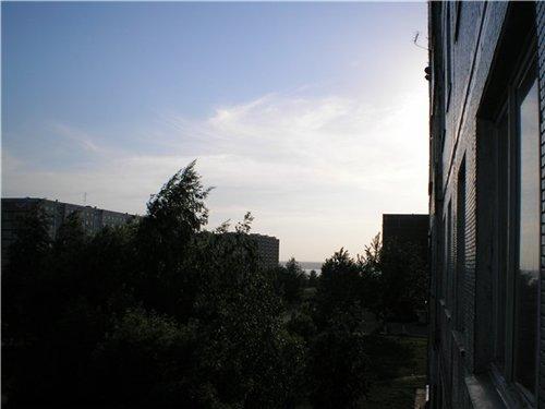 Набережные Челны, вид на Каму ночью