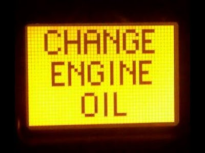 Oil Change Reminder Light