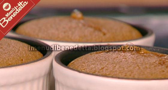 Soufflé Cioccolato e Zucca di Benedetta Parodi