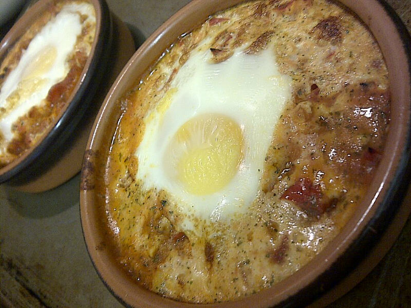 The Moving Foodie Blog: Recipe: Baked Eggs
