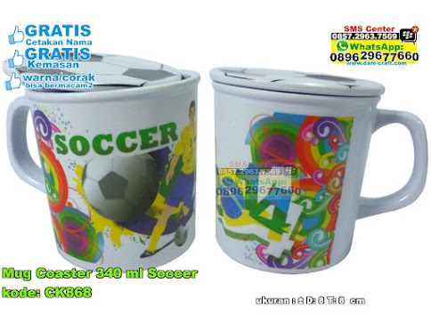 Mug Coaster 340 Ml Soccer