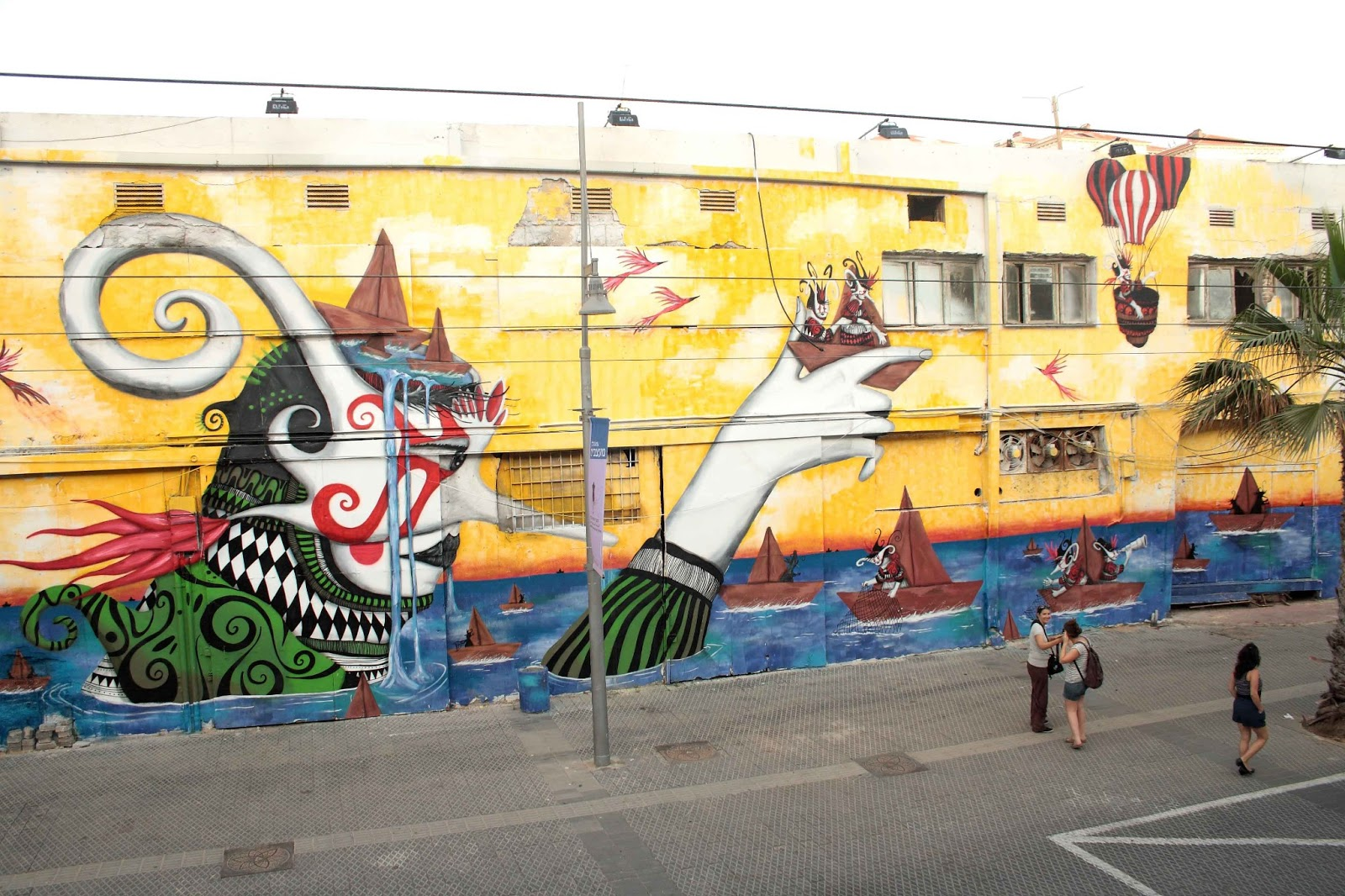 Vimural: The Viral Mural Home to Street Artist Biographies: Skount ...