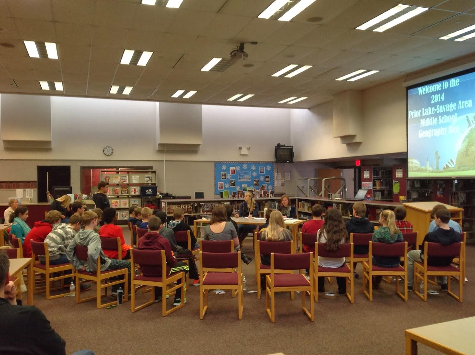 Twin Oaks Middle School: Middle School Geography Bee 2014