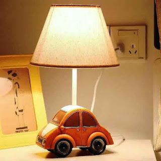 Desain Lampu Tidur Anak Unik Bentuk Mobil Model Terbaru