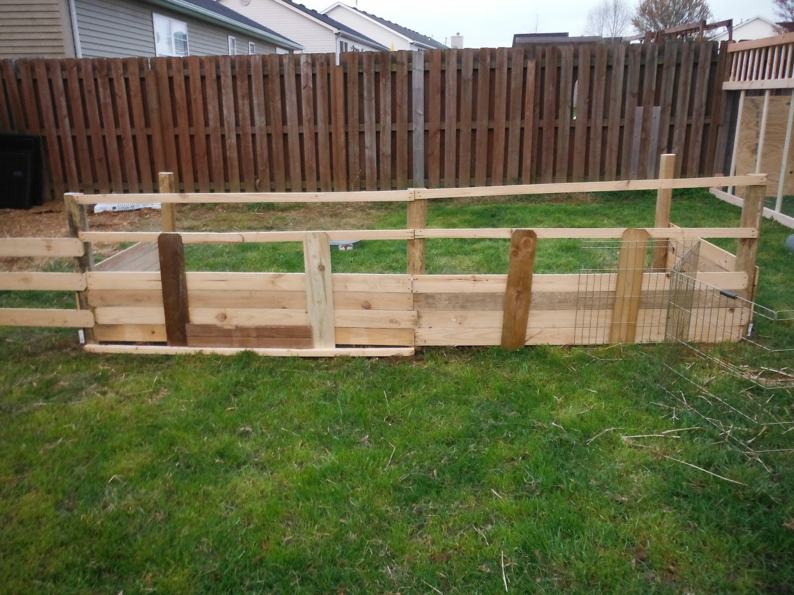 Suburban Backyard Farming : Suburban Backyard Farm Phase 3 and 4 of our Backyard Farm project