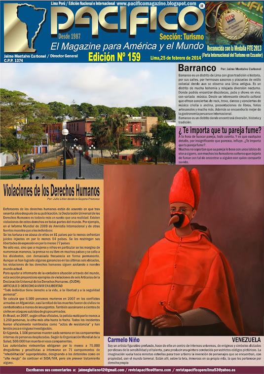 Revista Pacífico Nº 159 Turismo