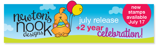 Newton's Nook Designs July 2105 Release & 2 Year Celebration