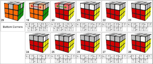 05 solución visual rubik 3x3x3