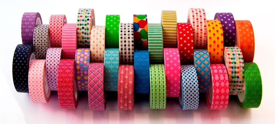 Lienime cintas adhesivas con dise o for Cinta de tela adhesiva