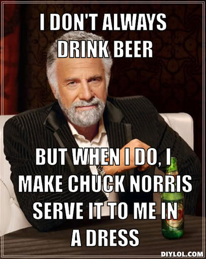 Funniest Meme Generator : Nuelow games the most interesting man in world comes
