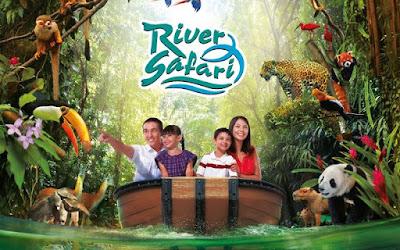 Vé máy bay đi Singapore - Phiêu lưu vùng hoang dã tại River Safari