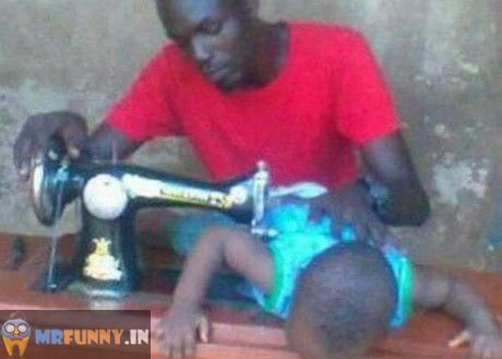 Modern Tailor Only in Africa