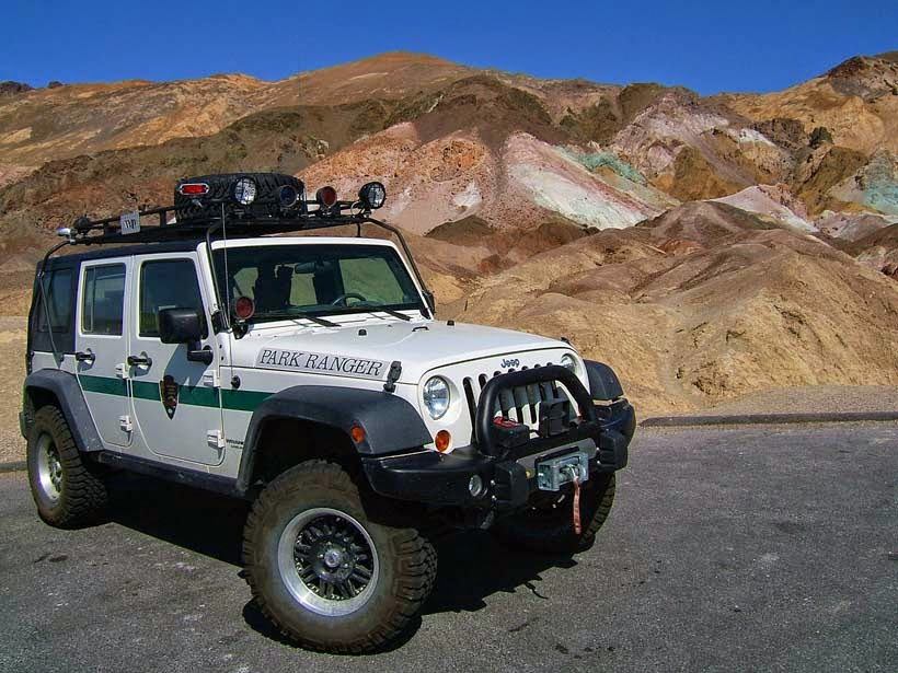 Park rangers death Valley