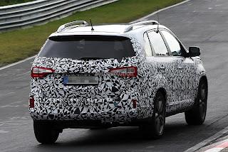 Spyshots: 2014 Kia Sorento Facelift