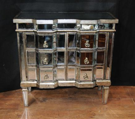 Canonbury Antiques Art Deco Mirror Chest Drawers Mirrored Furniture Chests C