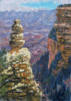 """The Hoodoo, Grand Canyon"""