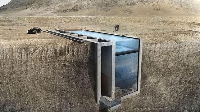 Dos arquitectos griegos han creado este diseño llamado «Casa Brutale»