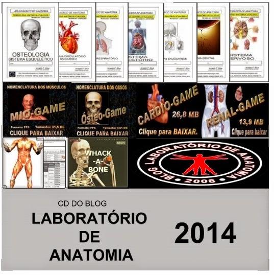 CD do Blog Laboratório de Anatomia