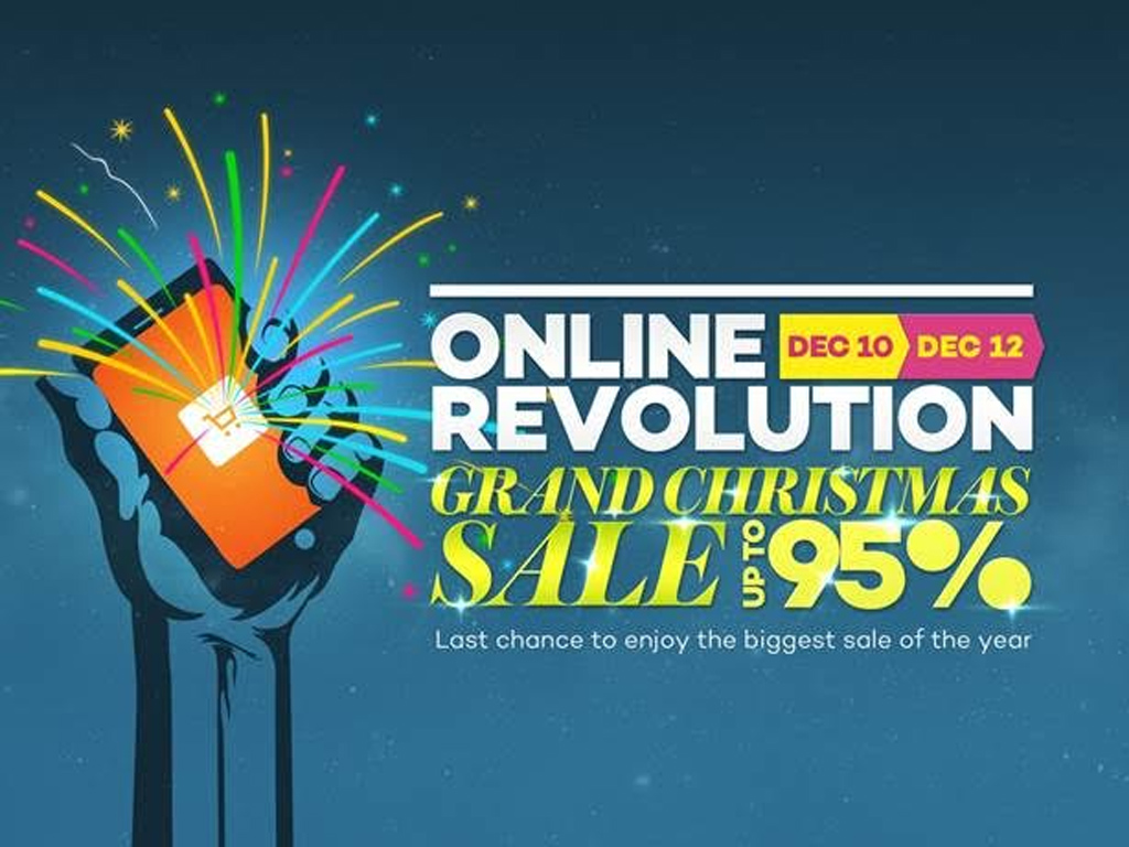 Lazada 3-day Grand Christmas Sale