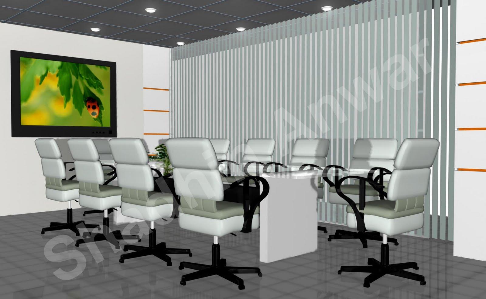 Shadhin 39 S Personal Blog 3d Views Of Office Interior Design