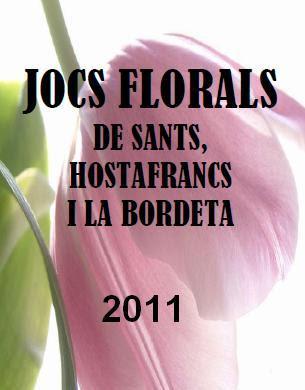 Jocs Florals de Sants, Hostafrancs i la Bordeta - 2011