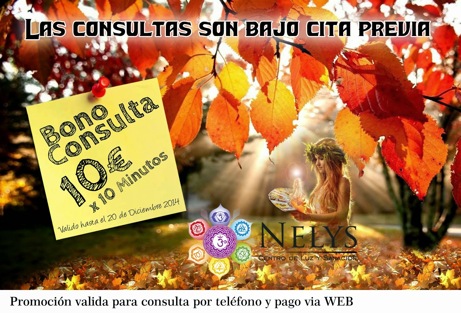 Promoción de Otoño 10€x10Minutos