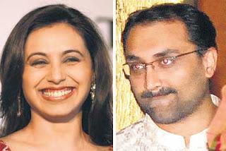 Aditya Chopra and rani