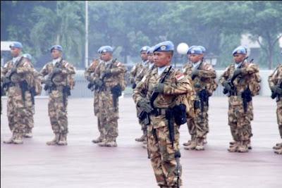 Satgas Kizi TNI di Kongo Banyak Melaksanakan Karya Konstruksi di Medan Yang Sulit