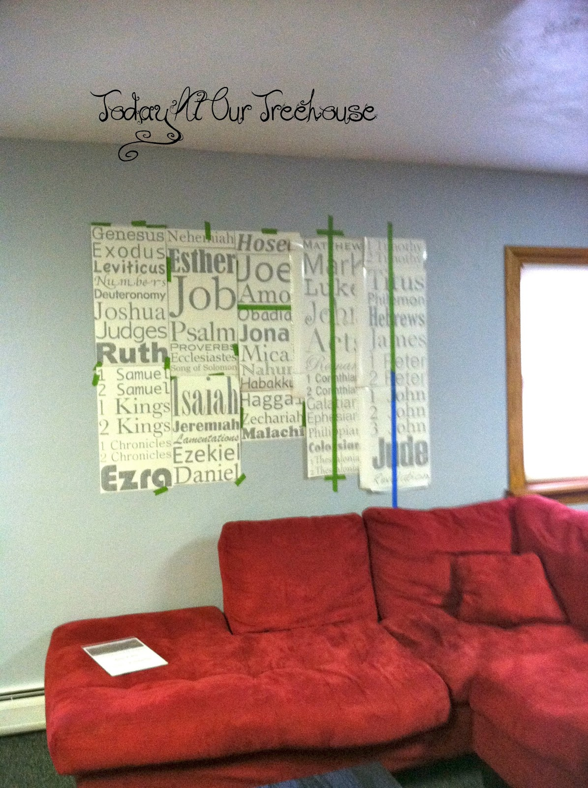 Books Of The Bible Wall Art