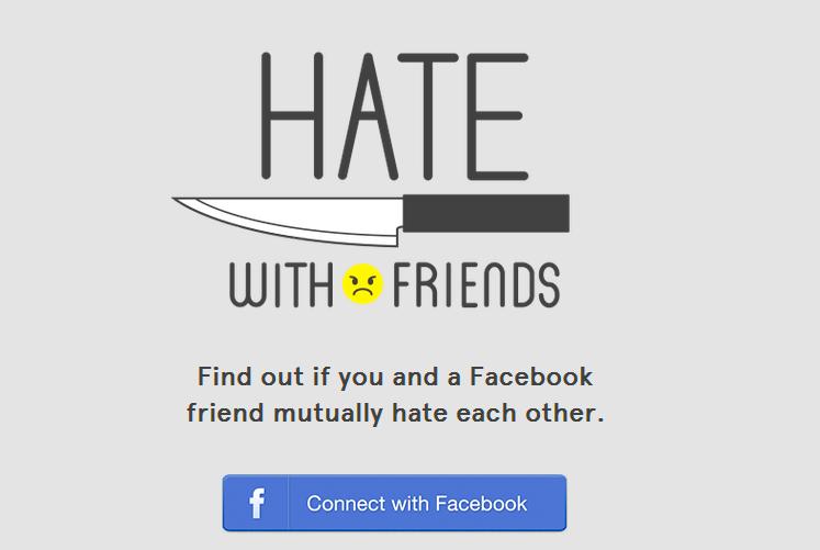 معرفة الأصدقاء الذين يكرهونك على الفيسبوك