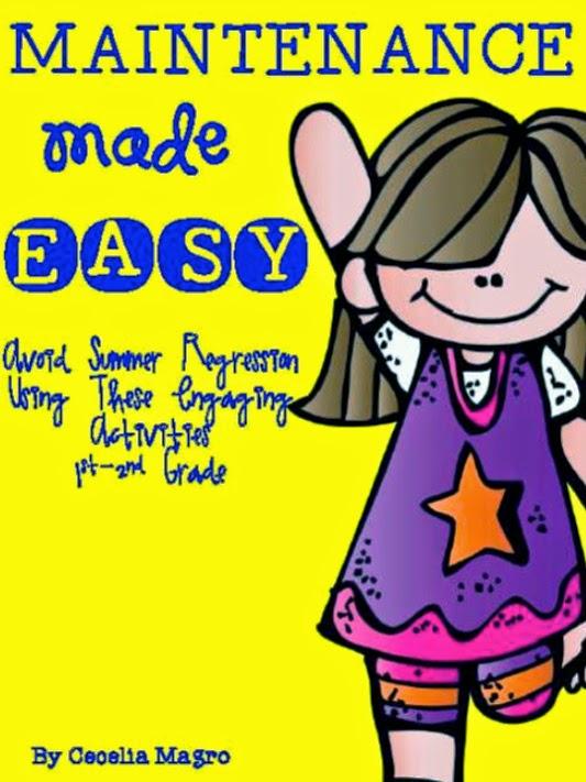 http://www.teacherspayteachers.com/Product/Maintenance-Made-Easy-Activities-to-Avoid-Summer-Regression-1231704