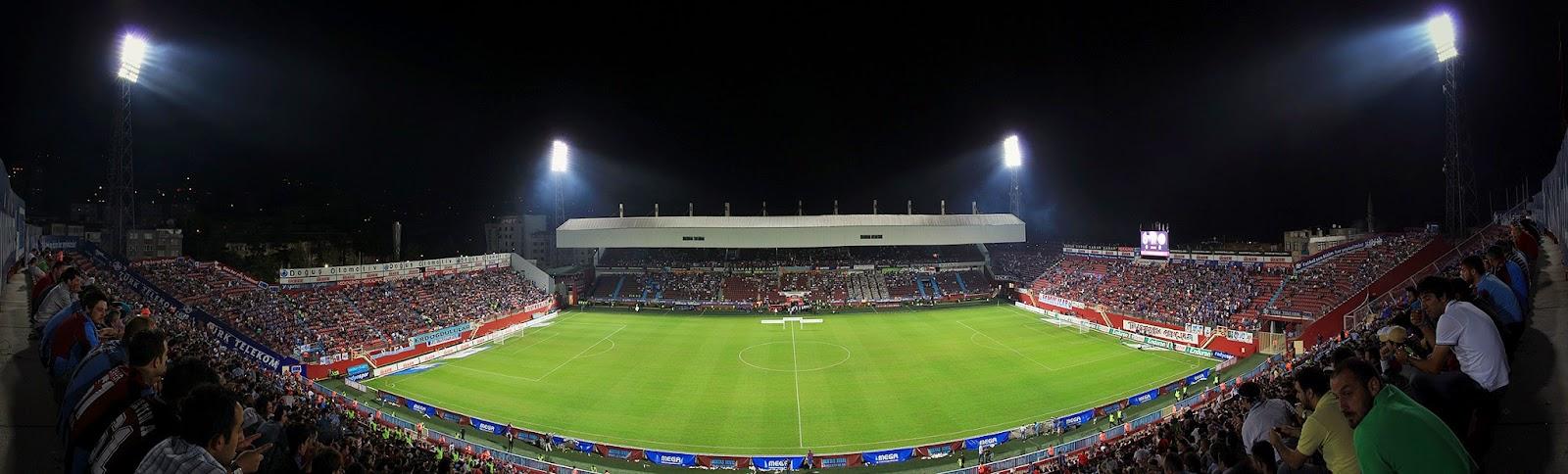 Hüseyin Avni Aker Stadium, Trabzonspor stadio
