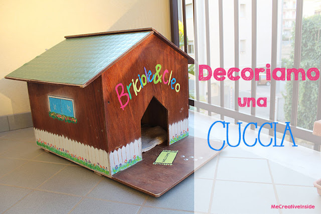tutorial diy decoriamo una cuccia per animali ME creativeinside