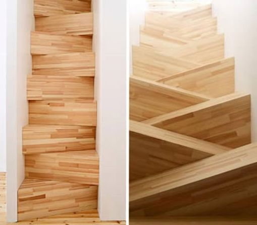 Apuntes revista digital de arquitectura dise o de - Muebles en escalera ...