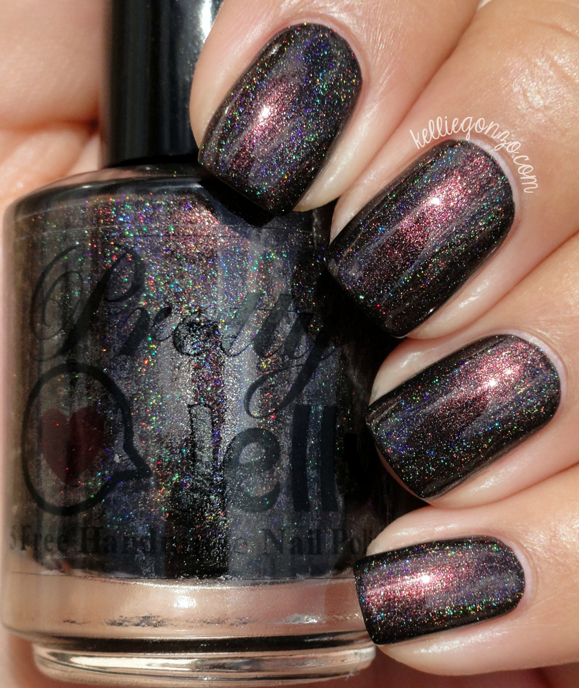 KellieGonzo: Pretty Jelly Halloween 2015 Collection Swatches & Review