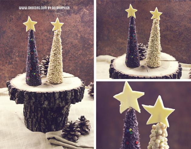 árbol navidad chocolate