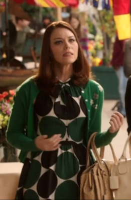 "Annabeth's Kate Spade Willa Dot Dress Hart of Dixie Season 2, Episode 12: ""Islands In the Stream"""
