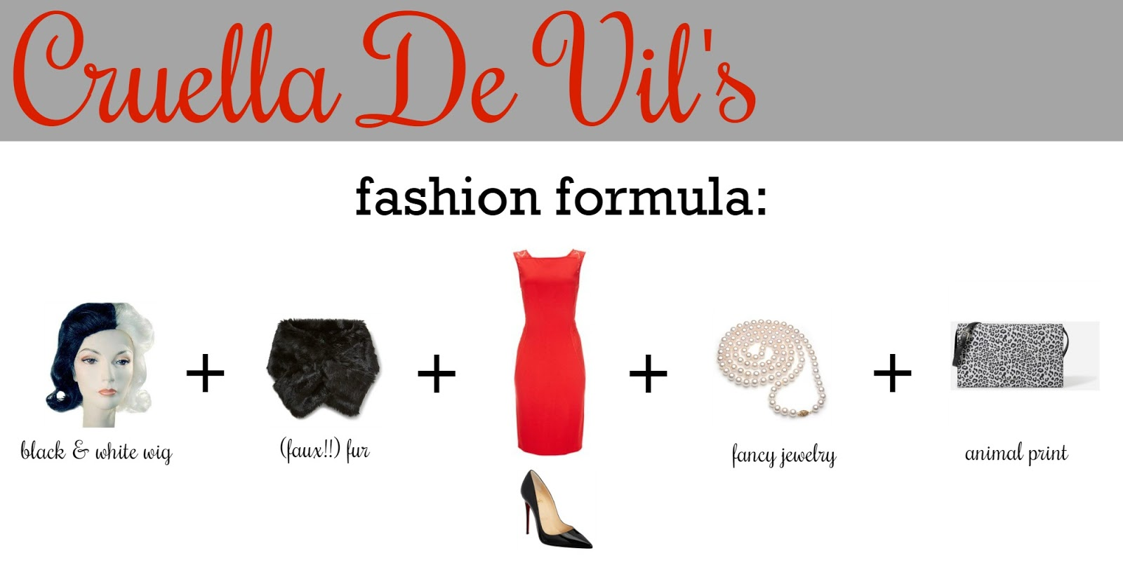 My Favorite Things Cruella De Vil Costume Tutorial Diy