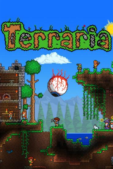 Terraria 2.5.0.7 (1.3.0.6) - GOG (PC/ENG/2011)