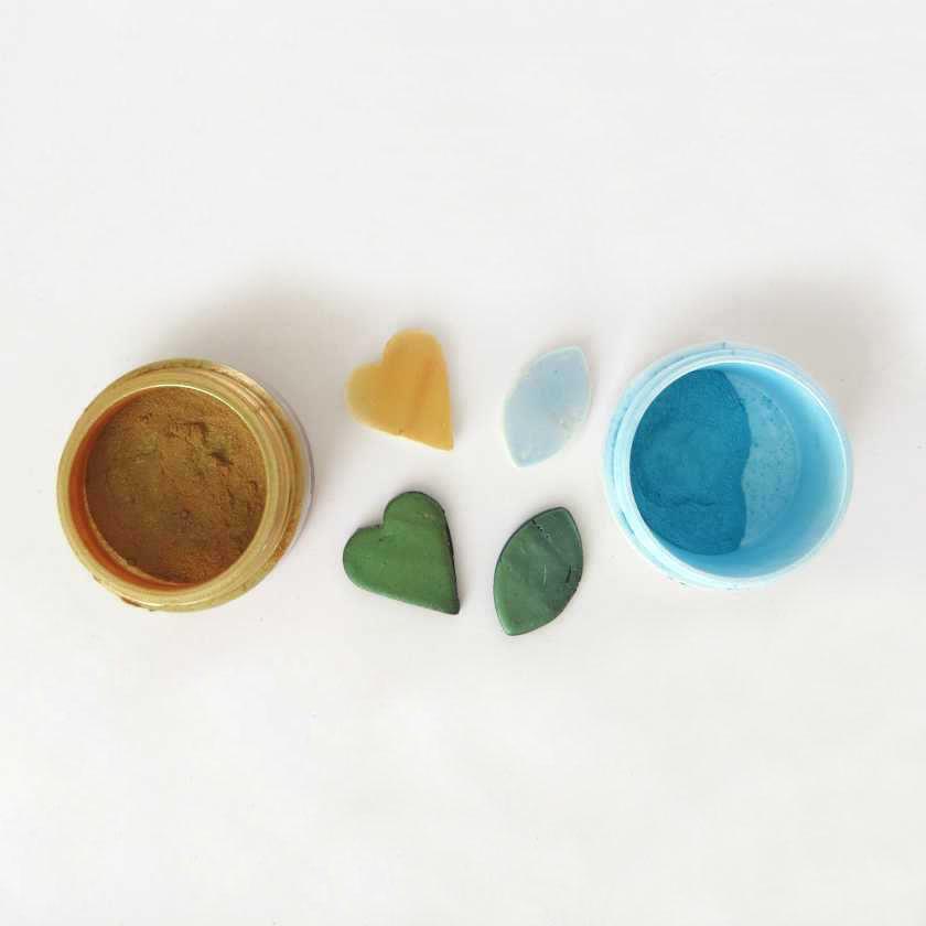 Colorazione pasta sintetica mica in polvere
