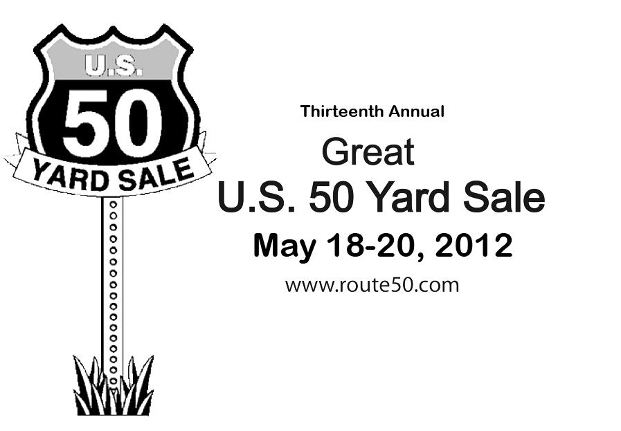 US 50 Yard Sale in Wood Co WV