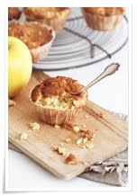 Apfel-Marzipan Muffins