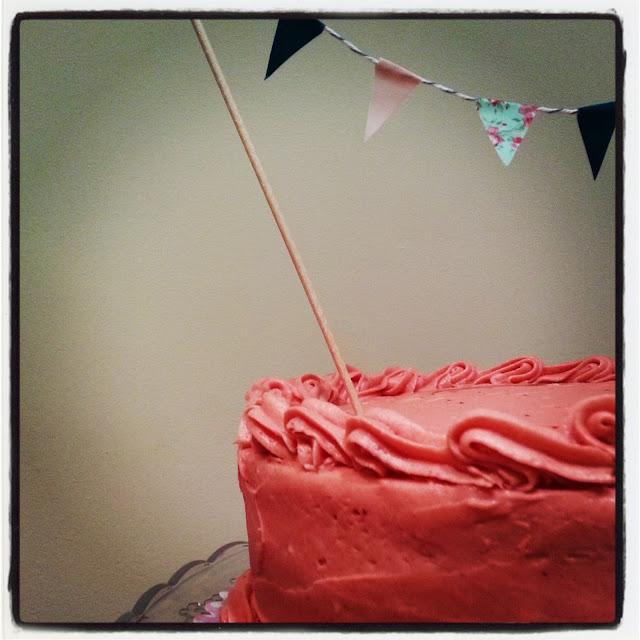 layer cake de fresa