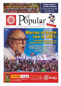 El Popular Nº 281 22/08/2014.