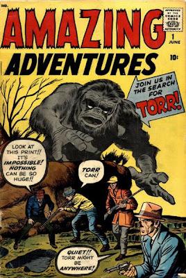 Amazing Adventures  #1, Torr